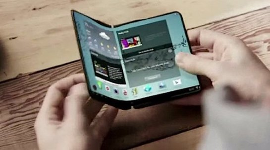 Корейцы намерены уже в следующем году выпустить первый гибкий смартфон