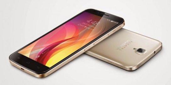 Alcatel презентовал новый смартфон в металлическом корпусе