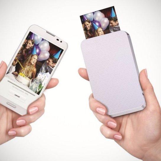 Уникальный чехол превратит ваш смартфон в принтер
