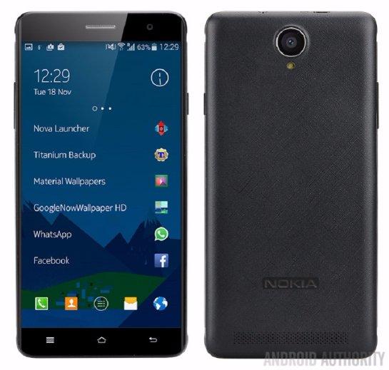 В Сети появились первые фото будущего смартфона от финской компании Nokia