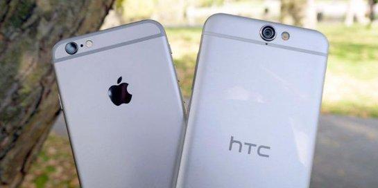 Новый флагман от HTC скопировал и цветовую гамму iPhone