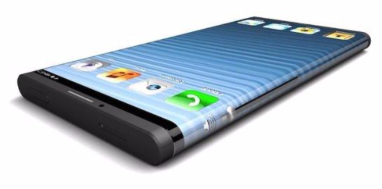 «Яблочная корпорация» запатентовала смартфон с изогнутыми краями