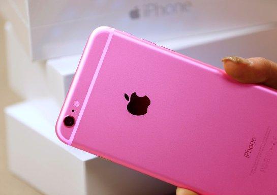 Новый айфон может стать розовым