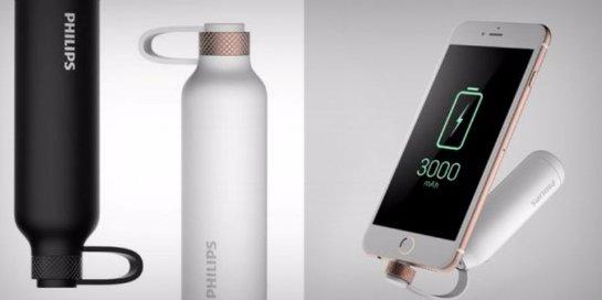Philips презентовала внешнюю батарею в виде флакона духов