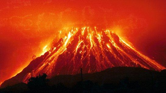 Сильнейшее извержение может стереть Рим с лица Земли