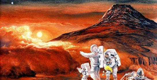 Илон Маск обещает отправить человека на Марс через девять лет