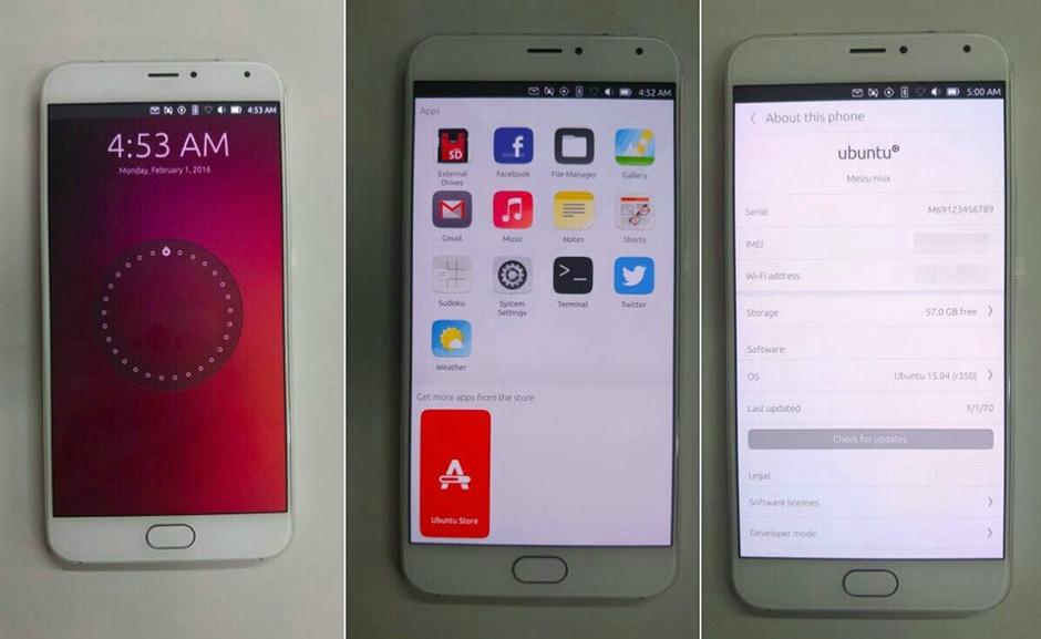 Новый смартфон от Meizu будет работать под управлением Ubuntu
