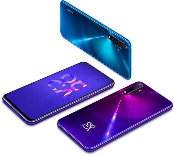 Современные смартфоны Huawei Nova 5T в Comfy
